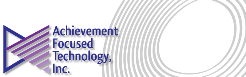 Logo for Achievement Focused Technology, Inc.